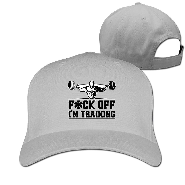 HNN Unisex Fuck Off I Am Training Peaked Baseball Caps Hats