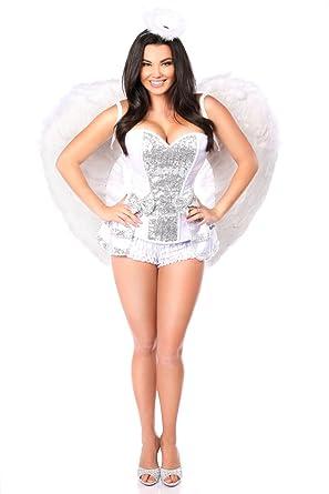 Amazon.com  Daisy Corsets Women s Top Drawer Plus Size 5 Pc Innocent ... 23fd67d4be62