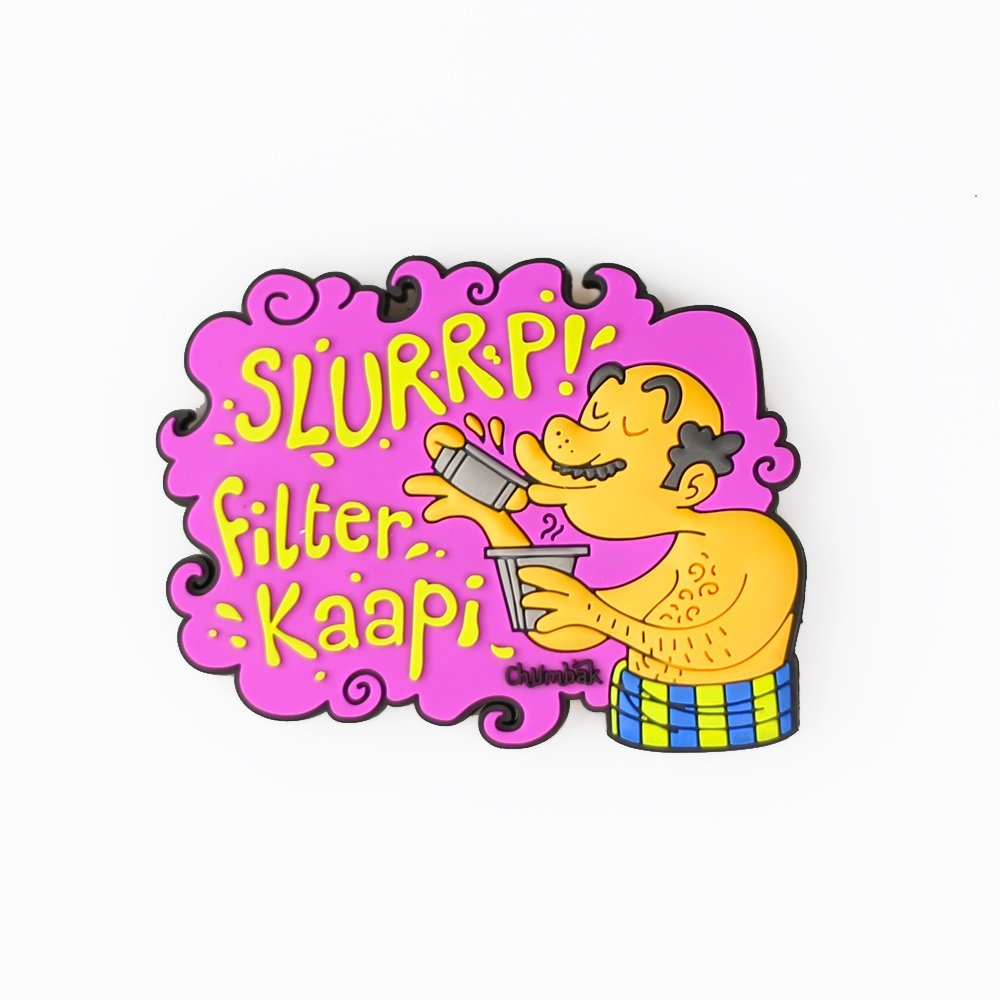 indian hand fan clipart. buy chumbak pvc filter kaapi magnet online at low prices in india - amazon.in indian hand fan clipart