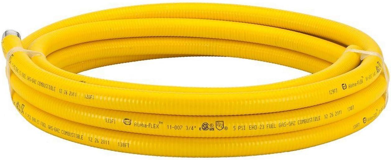 HomeFlex 11-00725 3/4-Inch x 25-Feet CorrugatedTubing, Stainless Steel