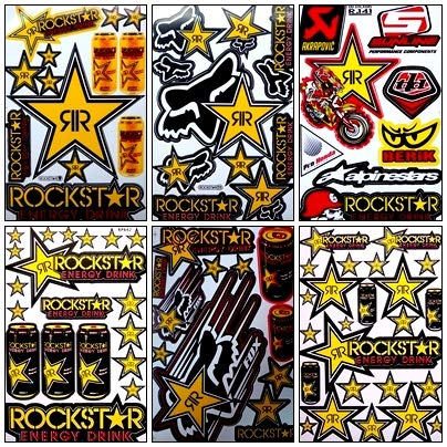 rockstar energy drink decal - 7