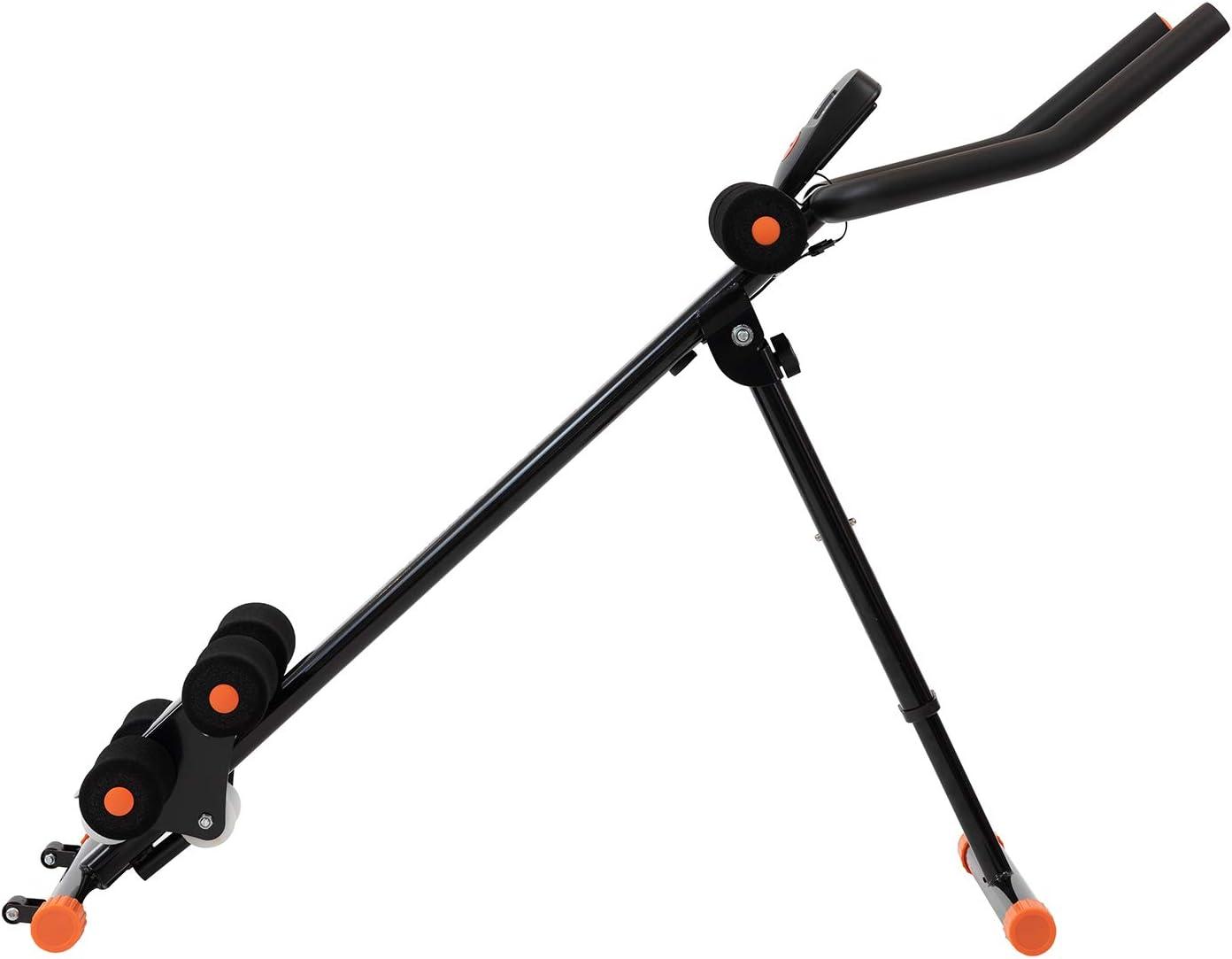 Máquina de entrenamiento abdominal plegable Techfit (programa de 5 minutos para los abdominales verticales, resistente, entrenador de cintura, ...