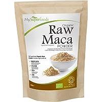 Maca in Polvere Biologica (500 Grammi) | MySuperFoods | Ricca di Sani Nutrienti | Antico Cibo Sano dal Perù | Delizioso Sapore di Malto | Certificato Biologico