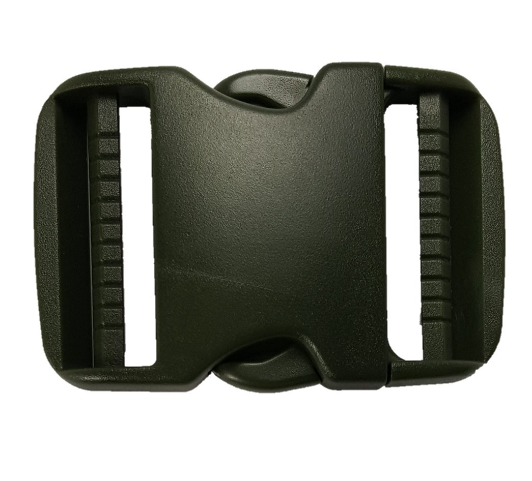 Plastic Buckle Set 2 Set 4Pc Military Grade Quick Pinch Side Release 2 Inch Dual Adjustable Olive Green Nexus