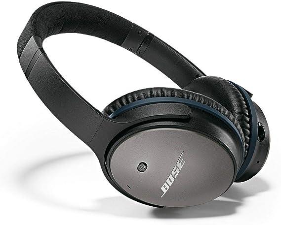 Bose QuietComfort 25 Acoustic Noise Cancelling Headphones for Apple devices - Black