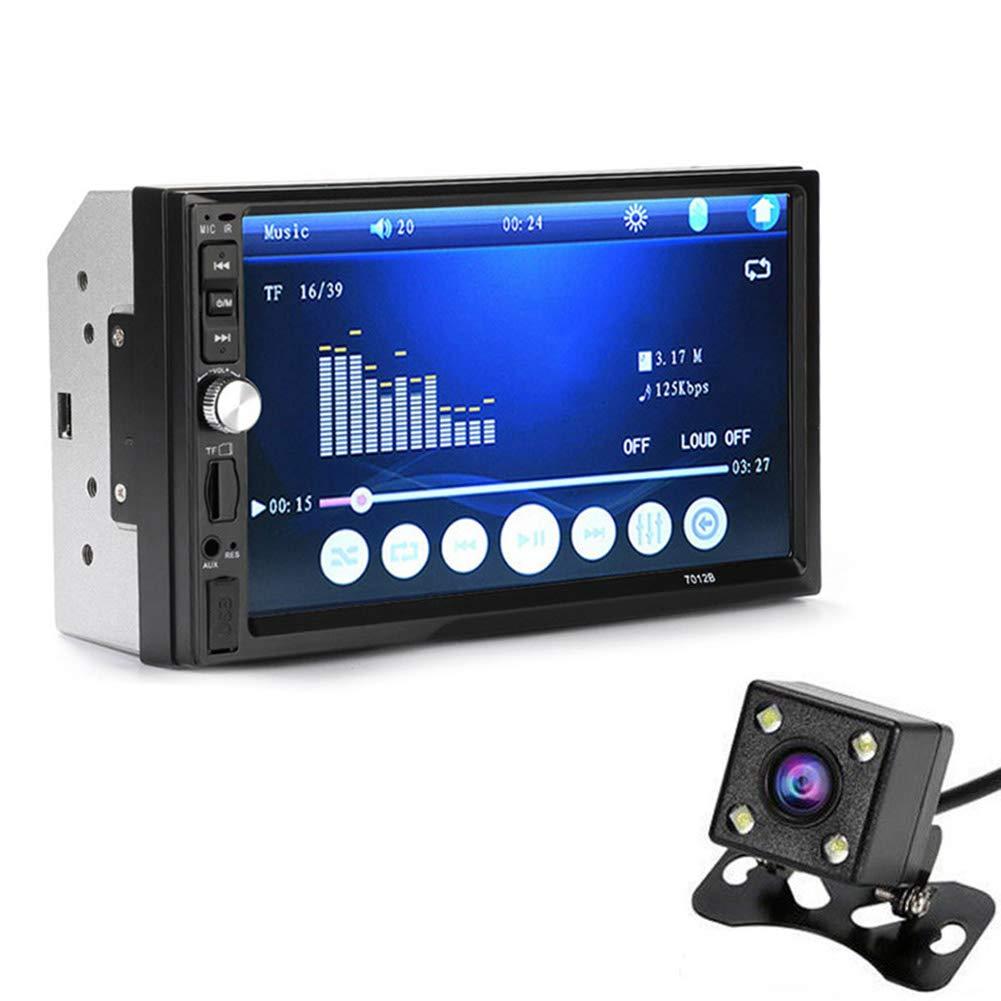 perg Transferencia 7 Pulgadas Doble 2DIN Coche mp5 Reproductor Bluetooth Stereo Radio HD cá mara FM AUX de Entrada PerGrate