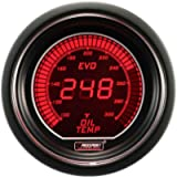 ProSport Digital Evo Electrical Oil 1/8 Inch NPT 52mm Vehicle Temperature Gauge