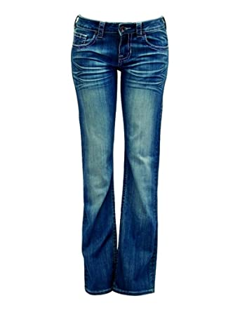 50d47813 Cowgirl Tuff Western Jeans Womens Aztec Pride (32 Long) at Amazon ...