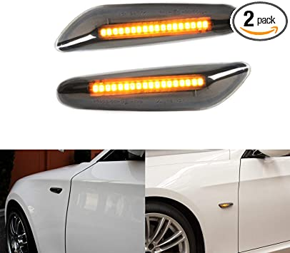 GENUINE OEM Door handle LED Lights PAIR for BMW 3 Series E90 X1 E84 2004
