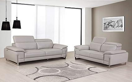 Amazon.com: Blackjack Furniture 636-LIGHT-GRAY-2PC Ellison ...