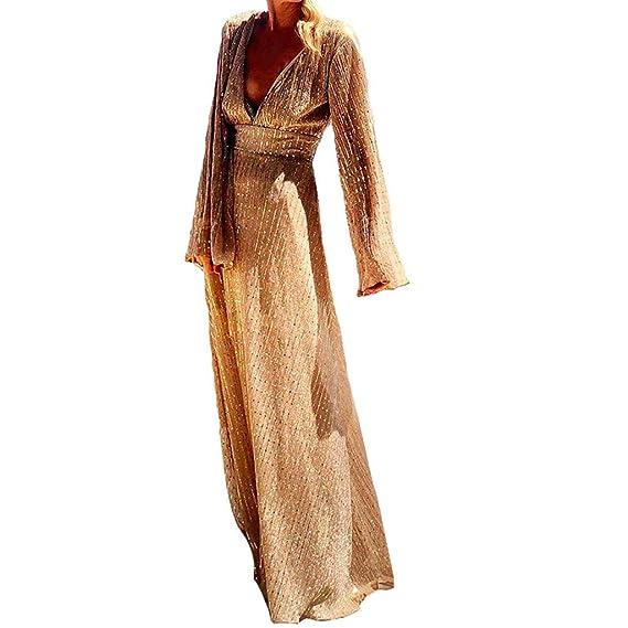 Vestido para Mujer Noche Largos Elegantes Invierno,PAOLIAN ...