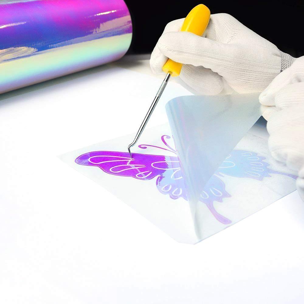 Elegance Ballet TECKWRAP Holographic Chrome Vinyl Sheets