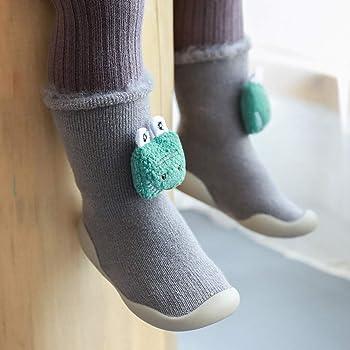 WuyiMC Christmas Floor Socks Unisex Anti-Skid Slip on Slipper Socks Infants Toddlers Baby