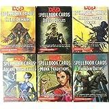 Dungeons & Dragons: Spellbook Cards Bundle:6 Decks (18-43 Cards Per Deck)
