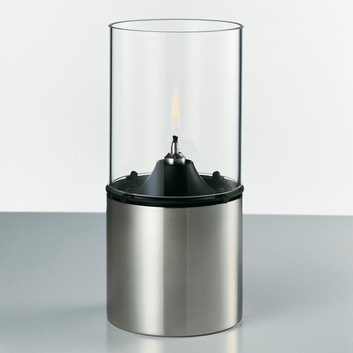 Stelton l/ámpara de aceite transparente cristal Acero Inoxidable Plata 18/cm 1005