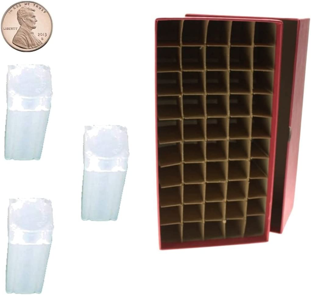 Lot of 5 Guardhouse square coin tubes for PENNY//CENT