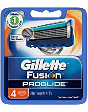 Gillette Fusion ProGlide Razor Cartridges Refill, 4ct
