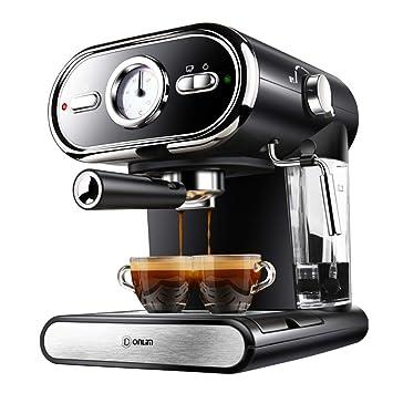 Máquina De Café Espresso Para El Hogar, Semiautomática, Mesa De Control De Temperatura Visual, Extracción A Temperatura Constante De 92 ° C: Amazon.es: ...