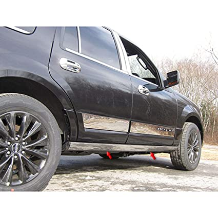 Amazon com: Elite Auto Chrome Stainless Steel Rocker Trim