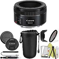 Canon EF 50mm f/1.8 STM Prime Lens ZeeTech Package (Basic Kit)