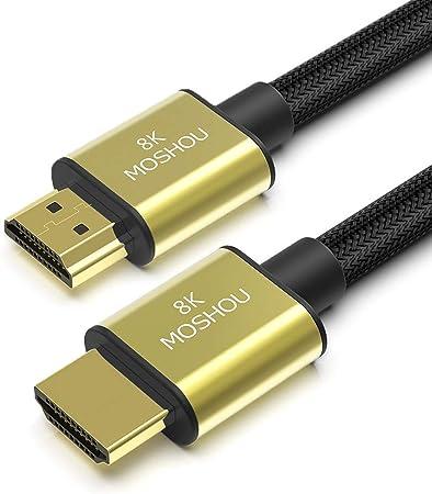 Moshou Hdmi 2 1 Cable Hdmi Cable 8k 60hz 4k 120hz Elektronik