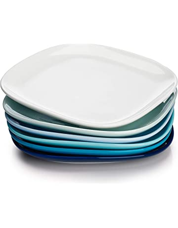 American Airlines Ceramic Square Serving Individual Bowl White Set of 6 Plate