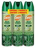 OFF! Deep Woods Insect Repellent Dry, Pack of 3