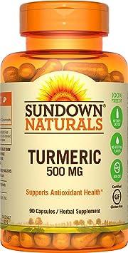 Sundown Naturals Turmeric Curcumin 500 Mg, 90 Capsules by Sundown Naturals