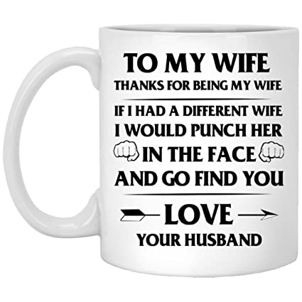 Amazoncom To My Love Wife Amazing Coffee Cup Mug If I Had A