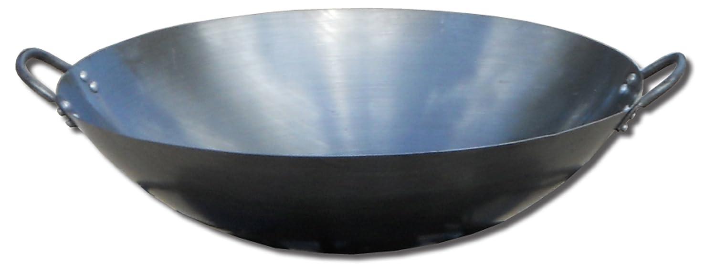 King Kooker #18WK Steel Wok, 17-Inch