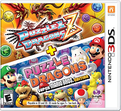 Puzzle & Dragons Z + Puzzle & Dragons Super Mario Bros. - 3DS [Digital Code] by Nintendo