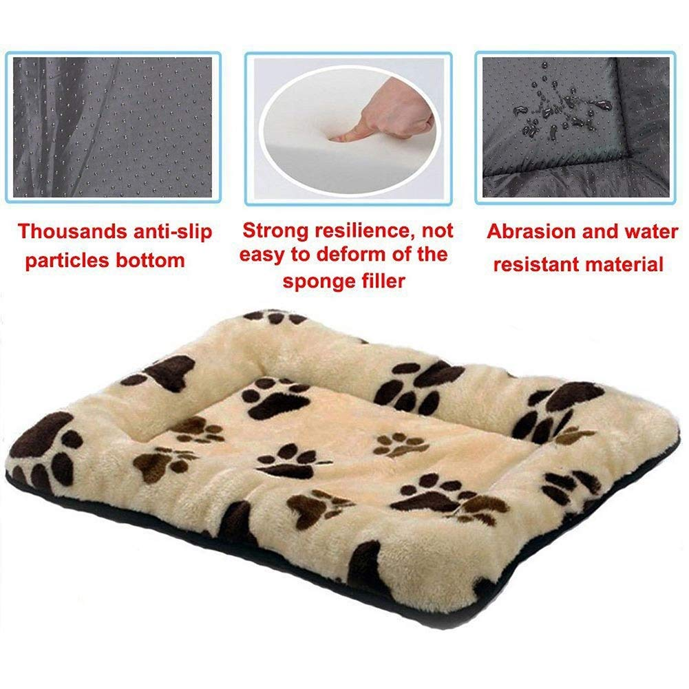 5b9e457825e3 Amazon.com : HUALAN Pet Crate Mattress Dog/Cat Cage Mat Cusion Washable  Kennel Pads, 30