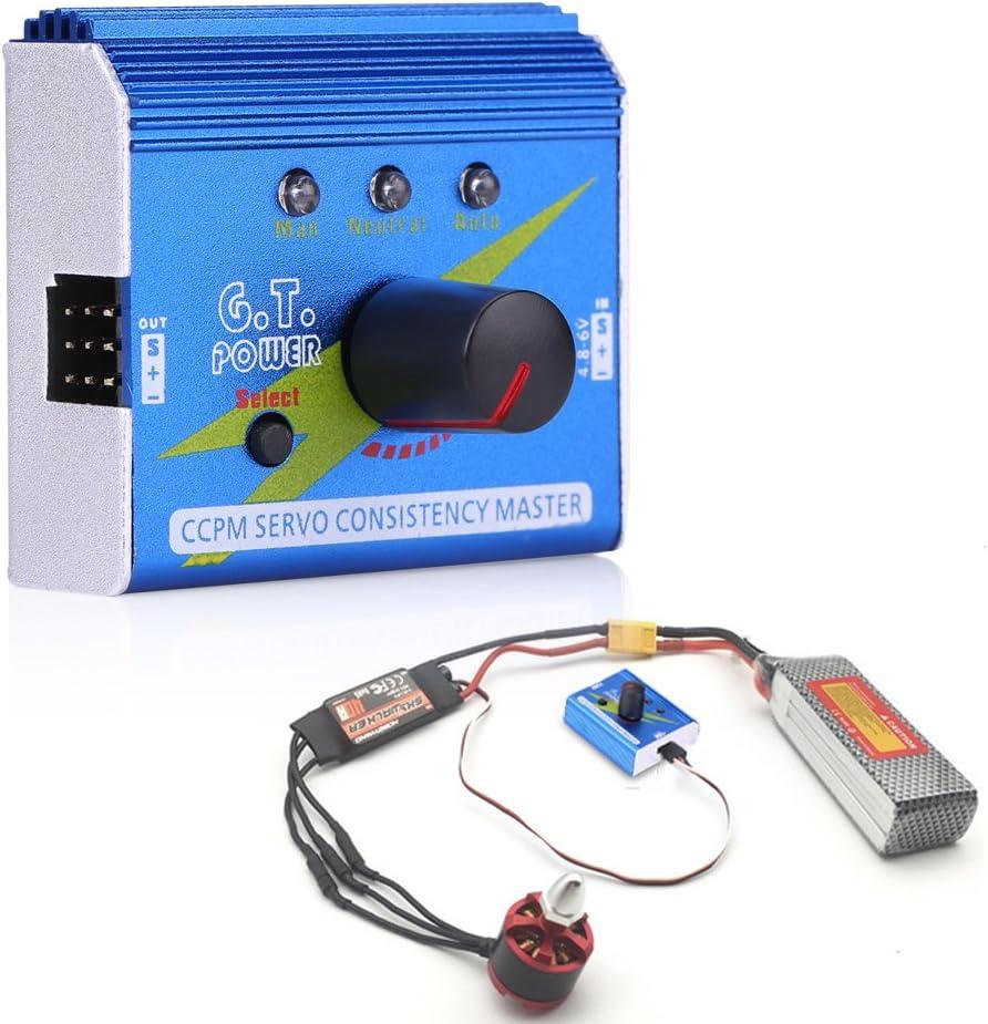 Motor Servo Tester Multifunction ESC Master Speed Controller Motor Checker