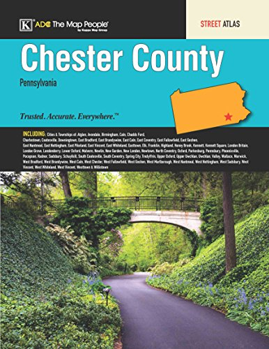 Chester County, PA Street Atlas Kappa Map