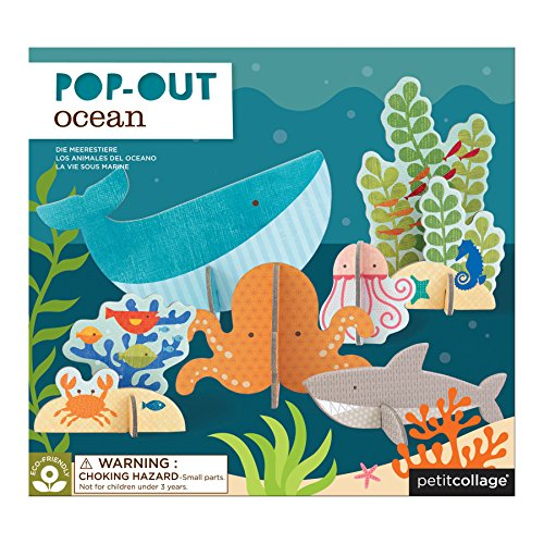Petit Collage Pop-Out and Build, Ocean