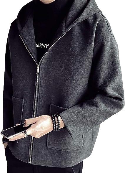 Heaven Days(ヘブンデイズ ) フーデットコート 秋冬 コート ジャケット アウター ショート丈 フード付き メンズ 1912C0326