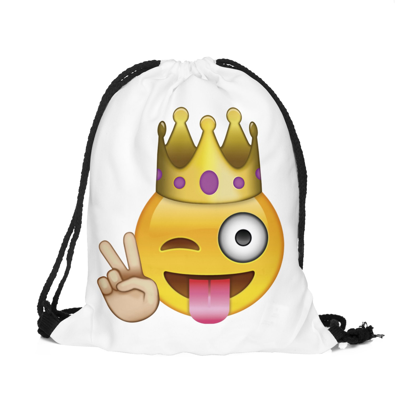 Emoji King Turn Bolsa Bolsa de deporte ba3329 Equipster ...