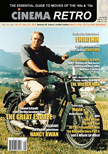 Cinema Retro Magazine Vol. 10 Issue 29 Special UK Import Limited Edition 2014 pdf epub