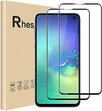 UniqueMe Protection /écran pour Samsung Galaxy S10e, Case Friendly Verre tremp/é Samsung Galaxy S10e Protection de qualit/é sup/érieure avec Clear Film 3 pi/èces