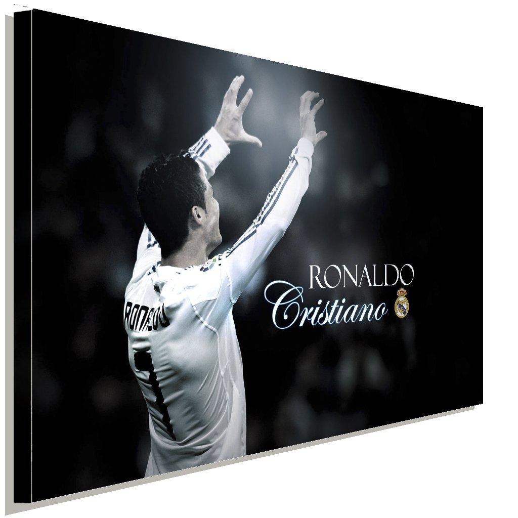 Cristiano Ronaldo Fussballspieler Fussballspieler Fussballspieler Leinwandbild LaraArt Studio Wanddeko Wandbild 100 x 70 cm 7ae315