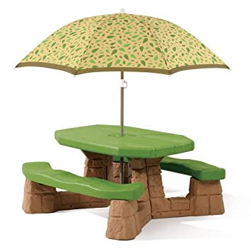 Perfect Step2 Naturally Playful Picnic Table With Umbrella