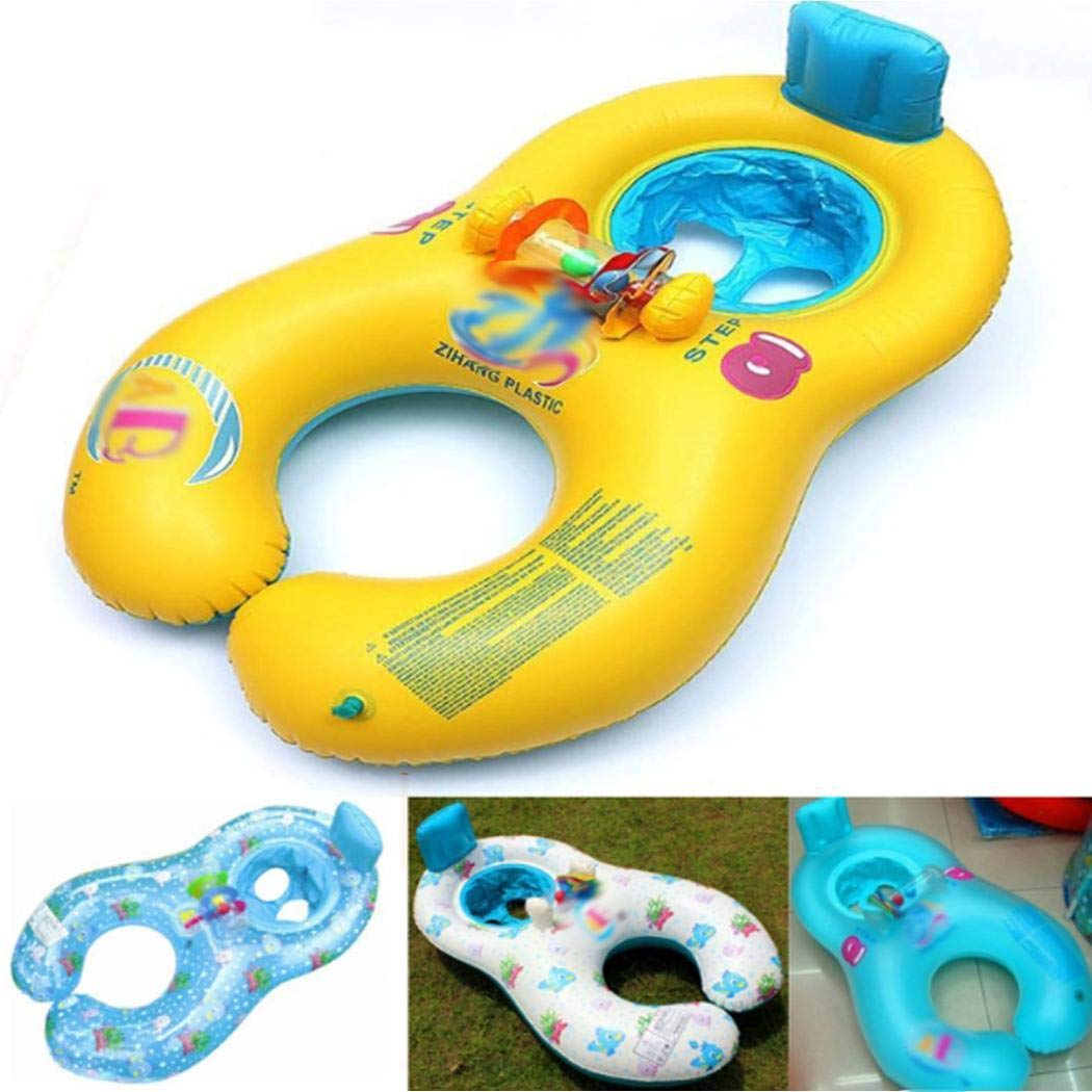 Kaimu Inflatable Mother Baby Swimming Ring Seat Pool Float Toy Baby Floats by Kaimu (Image #6)
