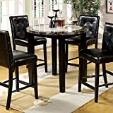 Furniture of America CM3188PT-40 Atlas IV 40″ Round Counter Height Dining Tables Review