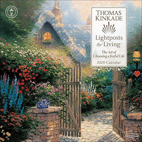 Thomas Kinkade Lightposts for Living 2020 Wall Calendar (Decor Wall Painting)