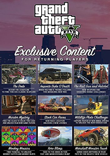 Amazon com: Grand Theft Auto V - Xbox One [Digital Code