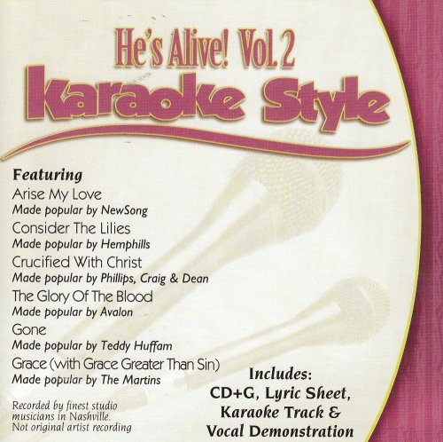 Daywind Karaoke Style: Hes Alive (Easter), Vol. 2