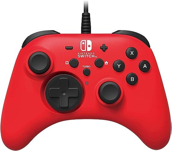HORI - Horipad rojo (Nintendo Switch): Amazon.es: Videojuegos
