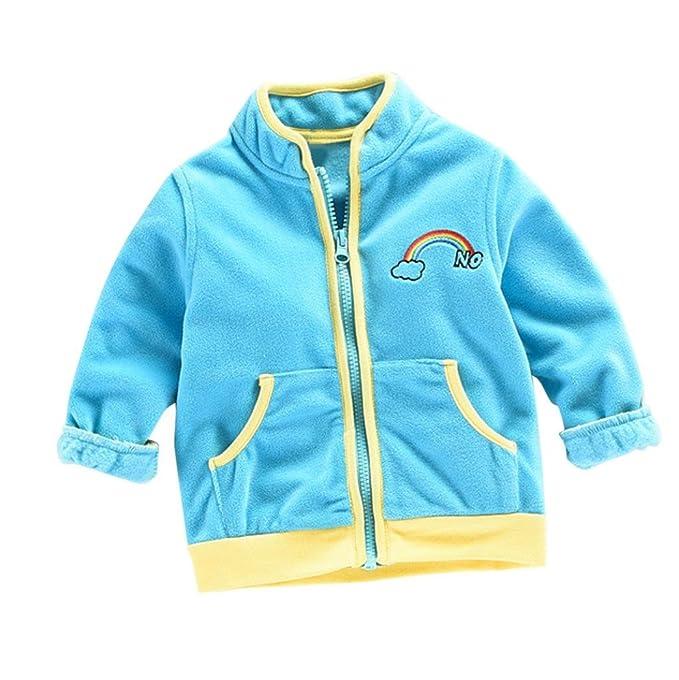 Abrigo para bebé niño niña , Yannerr Chico Chica invierno Paño grueso y suave del arco