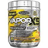 MuscleTech Performance Series Vapor X5 Next Gen Pre-Workout Powder, Orange Mango Pineapple, 30 Servings