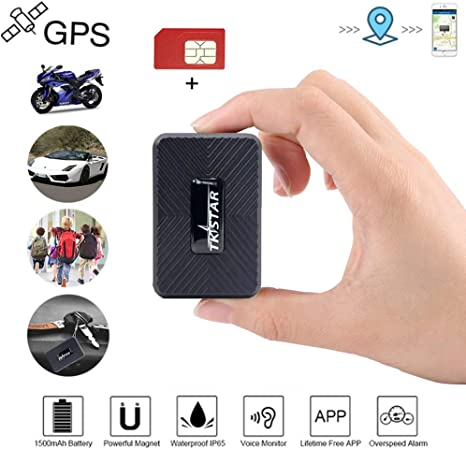 Sim Card Real Time GPS Tracker Magnetic Hidden Tracking Device for Vehicle Car
